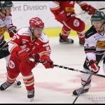 Ljungby 2012-01-06 Ishockey HockeyAllsvenskan IF Troja-Ljungby - Mora IK: Troja Ljungby forward 10 Jacob Berglund