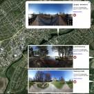 Mina panoramafoton i Google Earth