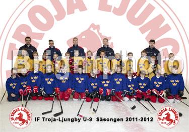 IF Troja-Ljungby U9 säsongen 2011-2012