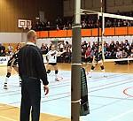 Panorama under SM-slutspel i volleyboll