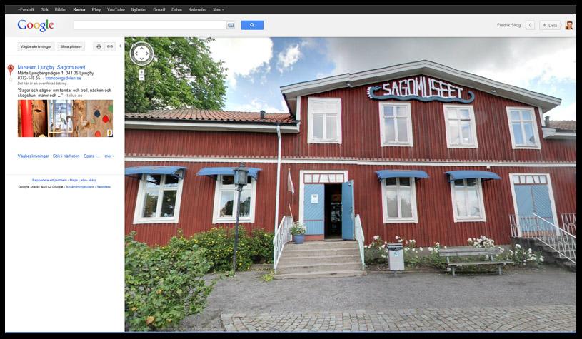 Google Företagsfoto av Sagomuseet i Ljungby