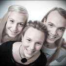 Porträttfoto av syskon